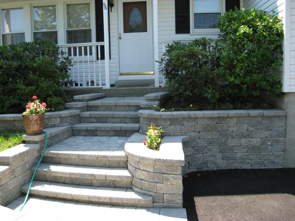Small Home Exterior Design Exterior Front Entrance Stair